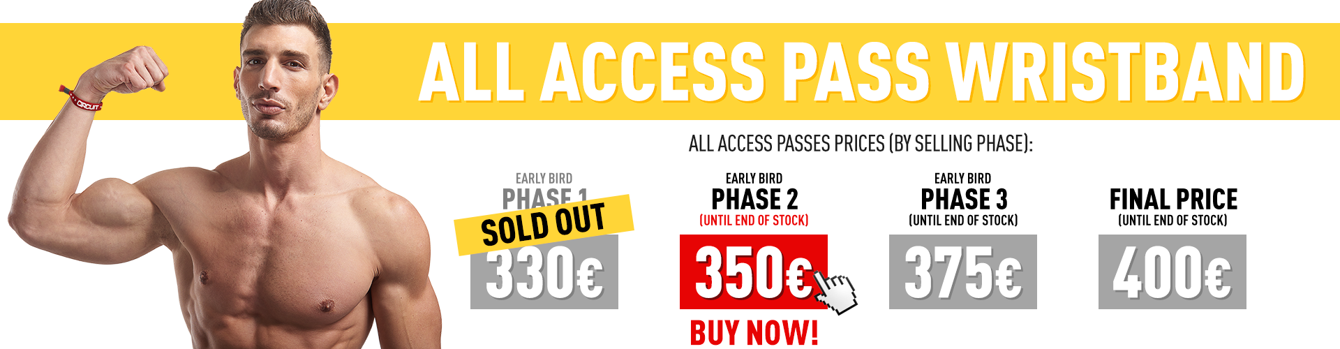 Circuit Festival All Access pass Phase 2
