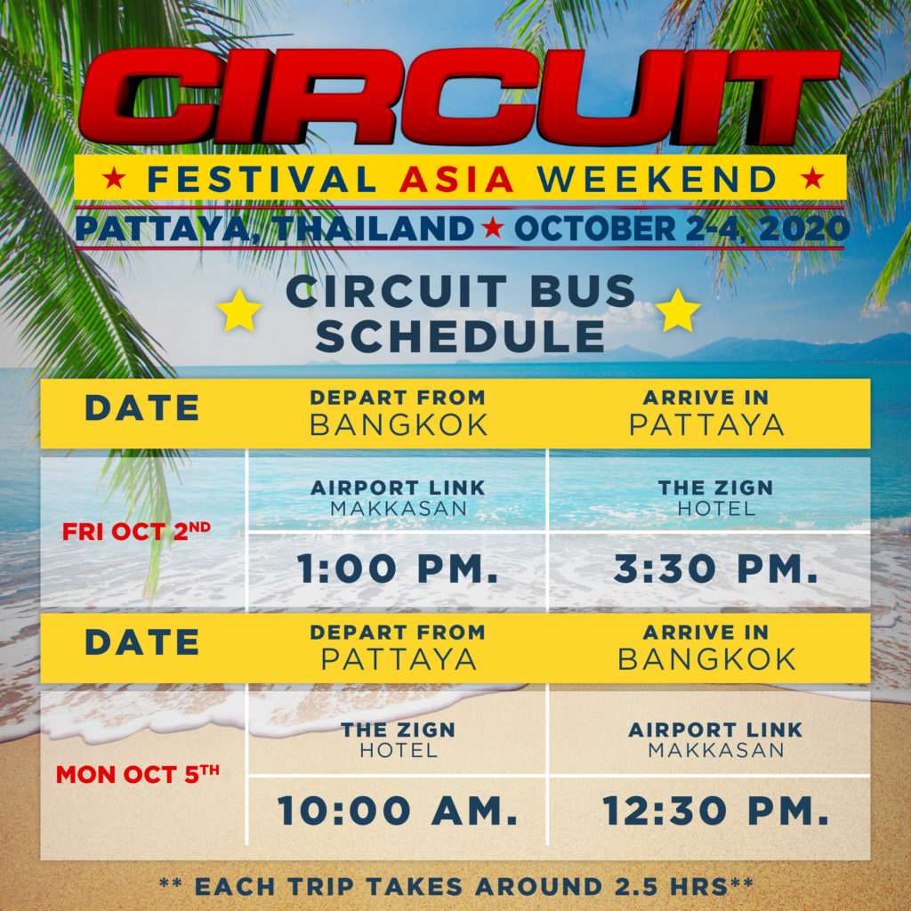 G Circuit Bus Schedule