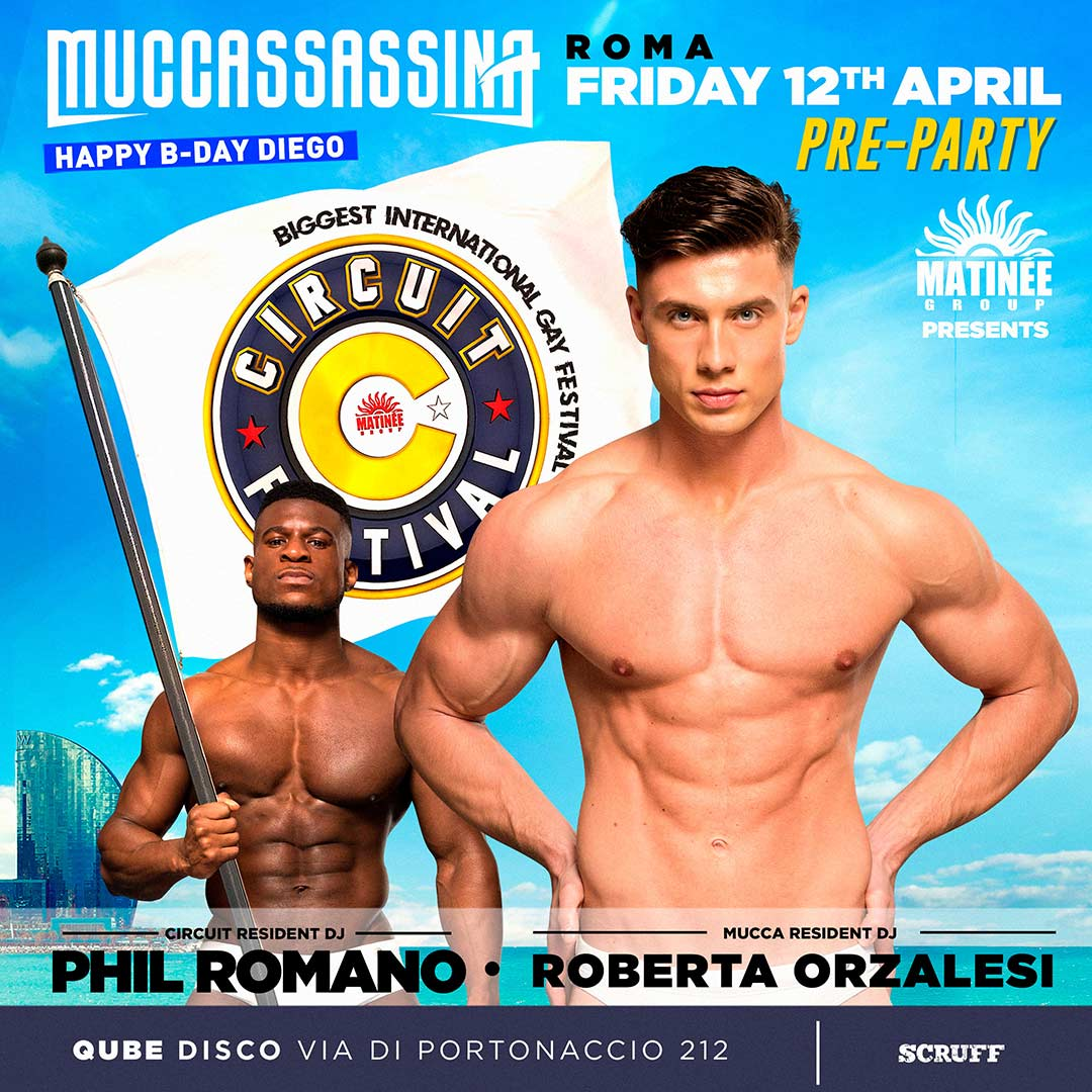 ROME - MUCCASSASSINA Circuit Resident DJ Phil Romano