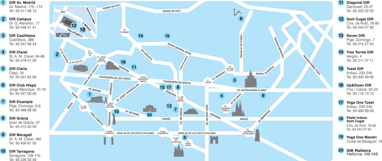 Mapadirimagen Circuit Festival Barcelona 2020 August 6 16