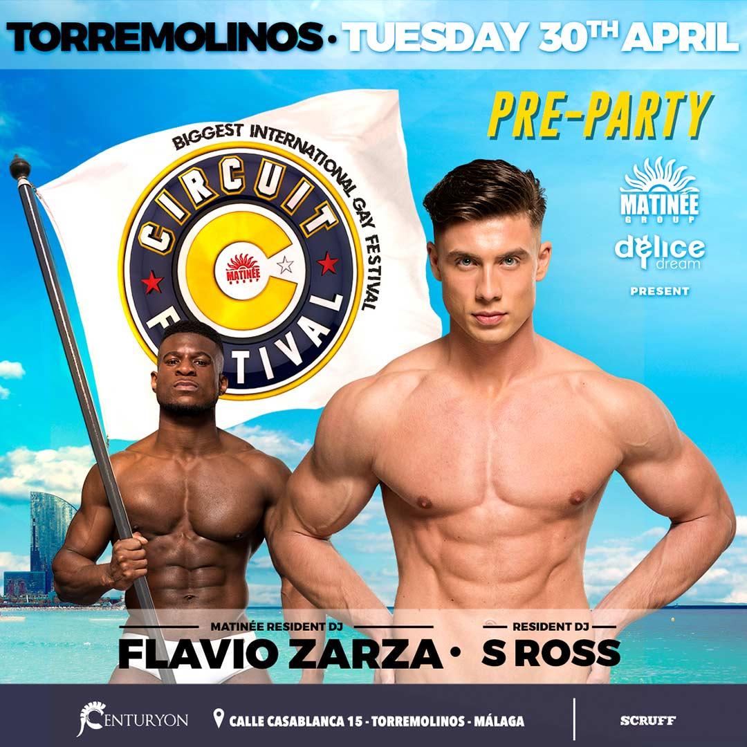 TORREMOLINOS - DELICE DREAM  Circuit Resident DJ Flavio Zarza